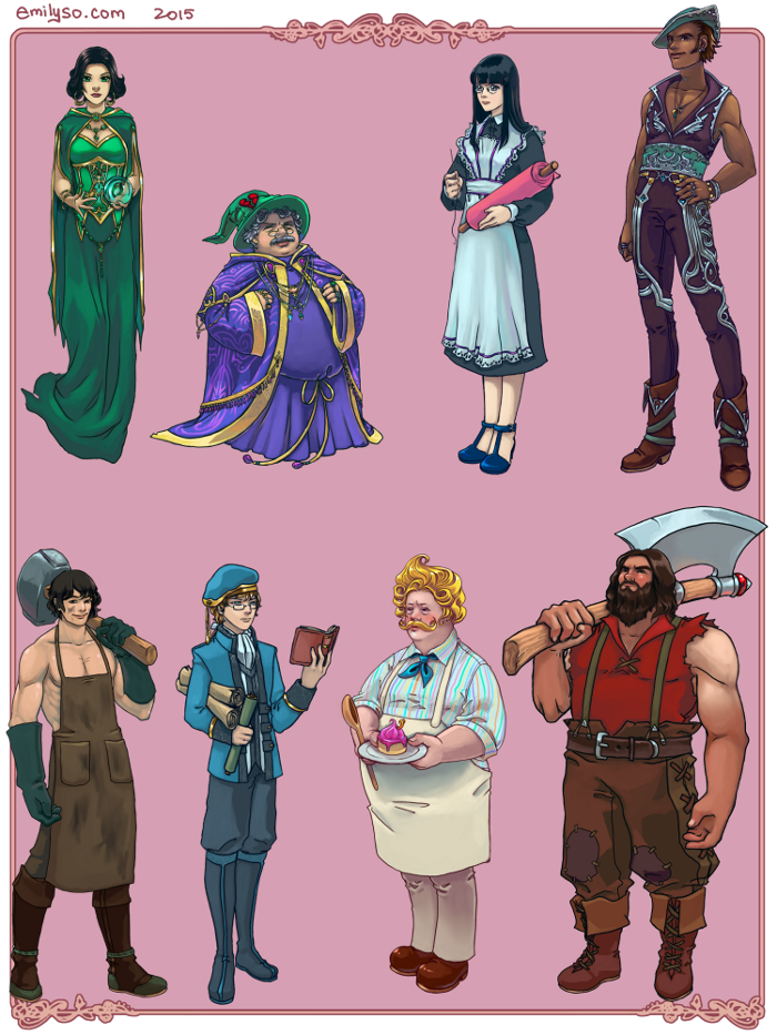 Character Design Artist For Hire : D artist for hire services offered html game devs forum