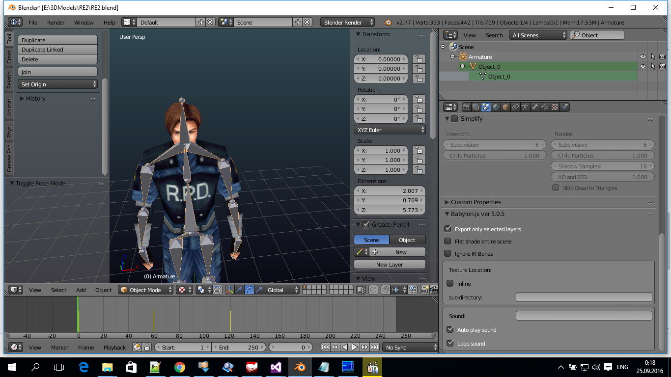 Import character from Mixamo com + Blender - Questions