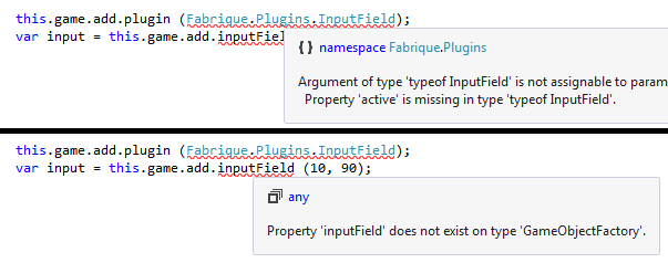 Typescript and Plugins - Are they officially supported? - Phaser 2