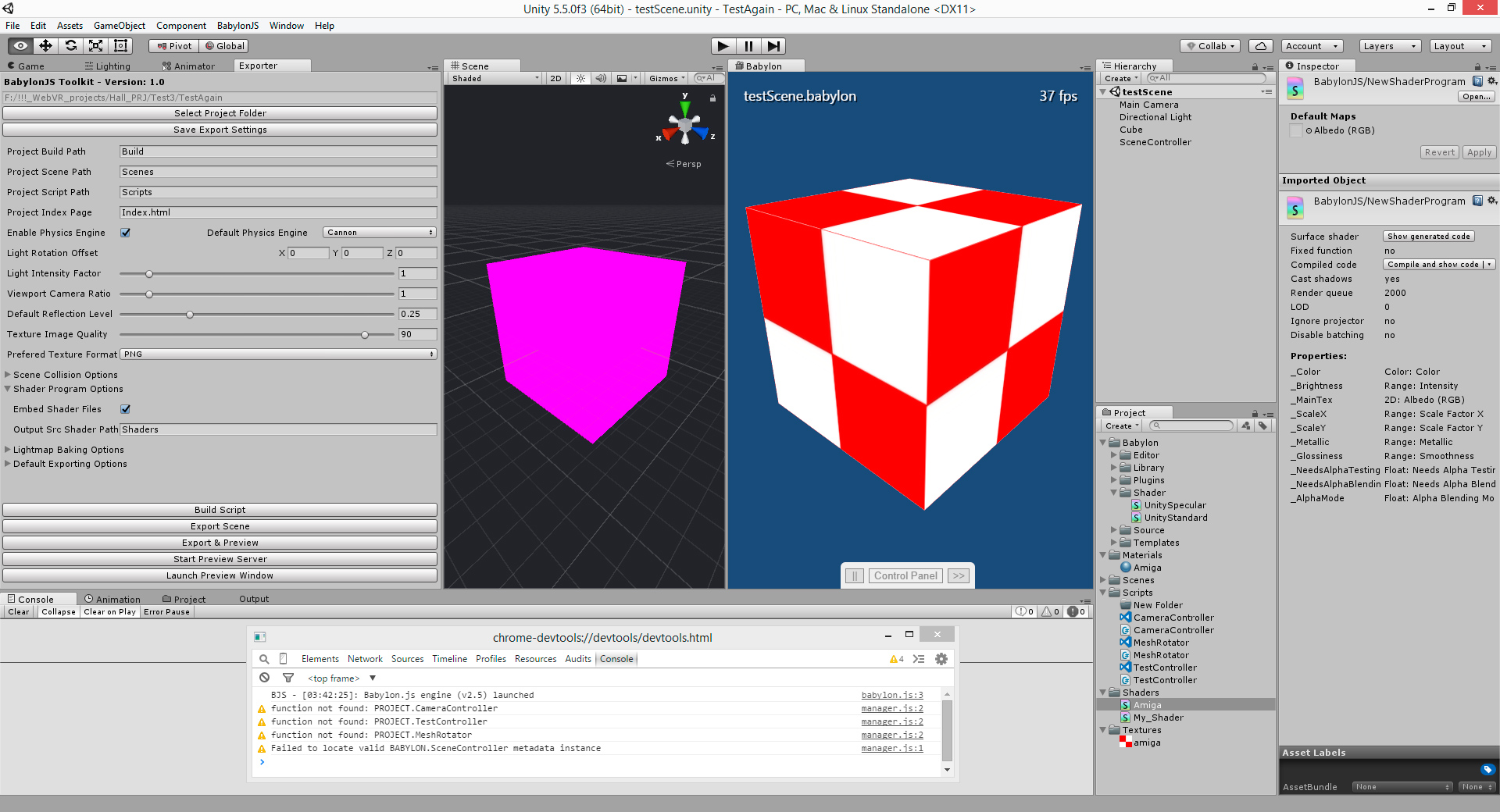 SOLVED] - U3D - BabylonJS Game Editor Toolkit - Page 3 - Questions