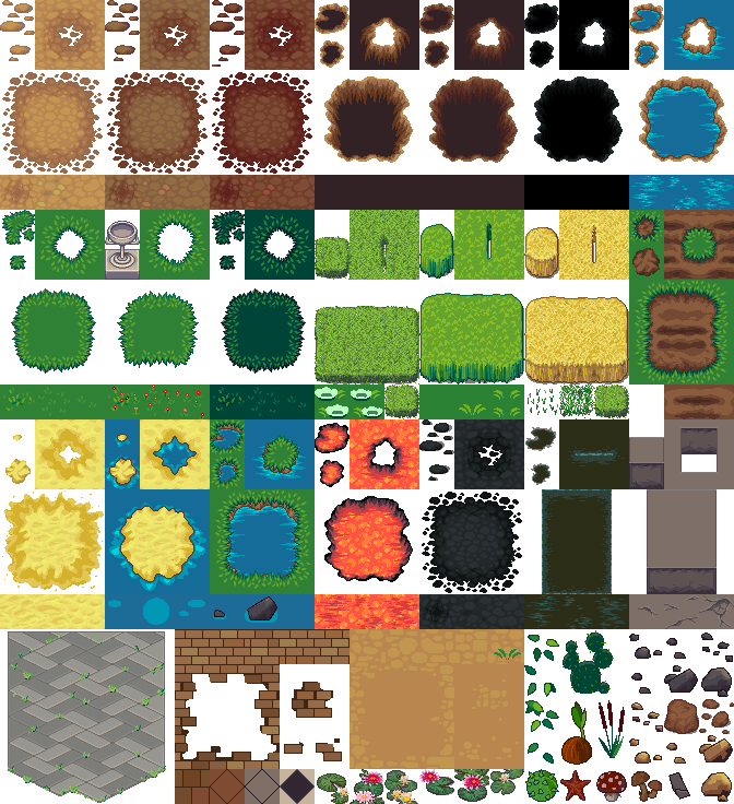 display an element of a tileset - Phaser 2 - HTML5 Game Devs Forum