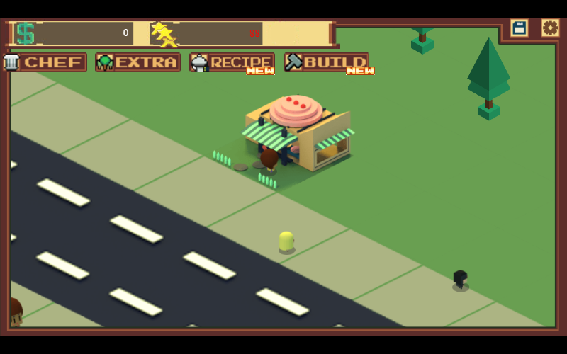 Play Foody Avenue game