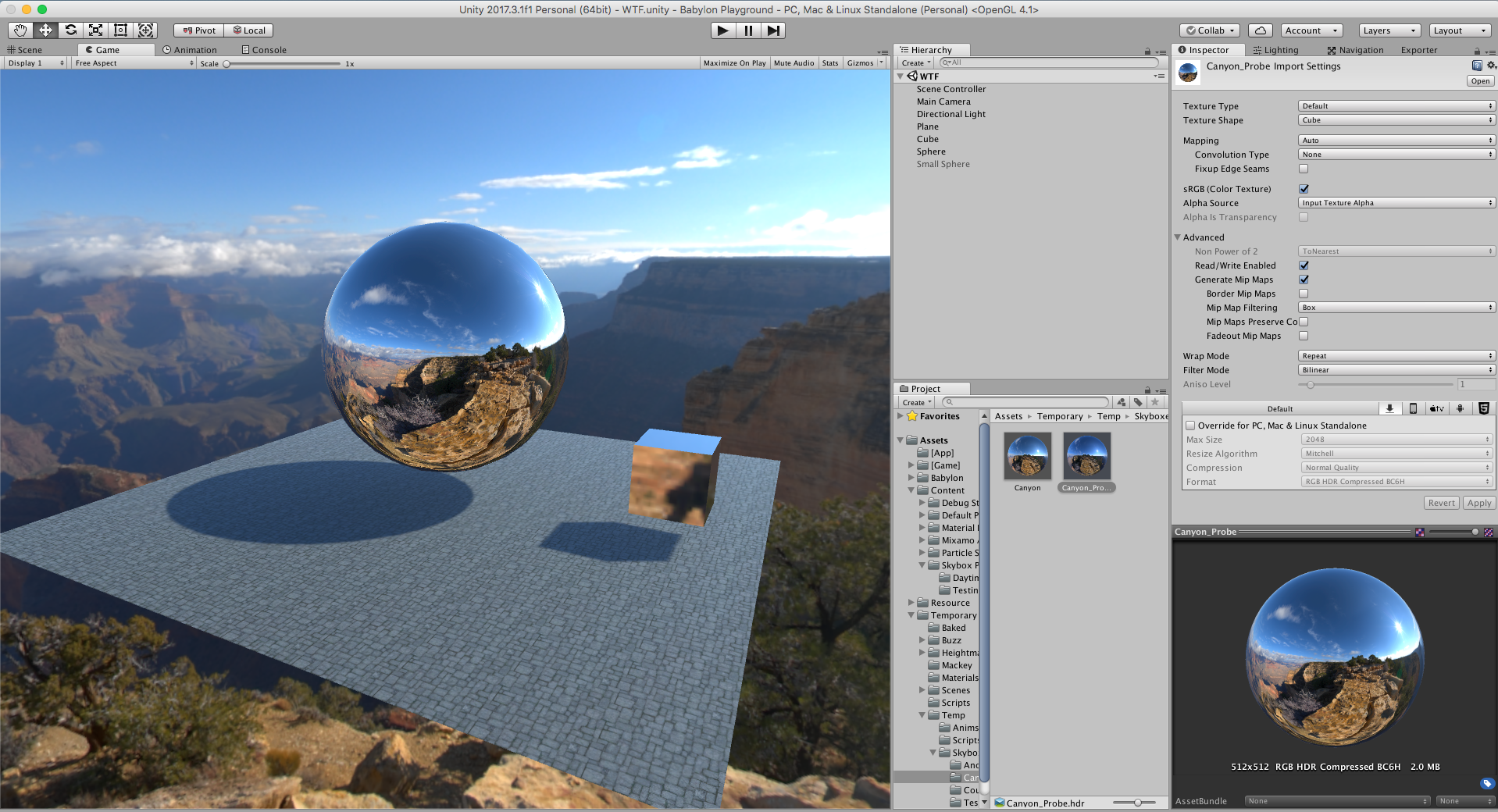 Unity Material conversion - Questions & Answers - HTML5 Game Devs Forum