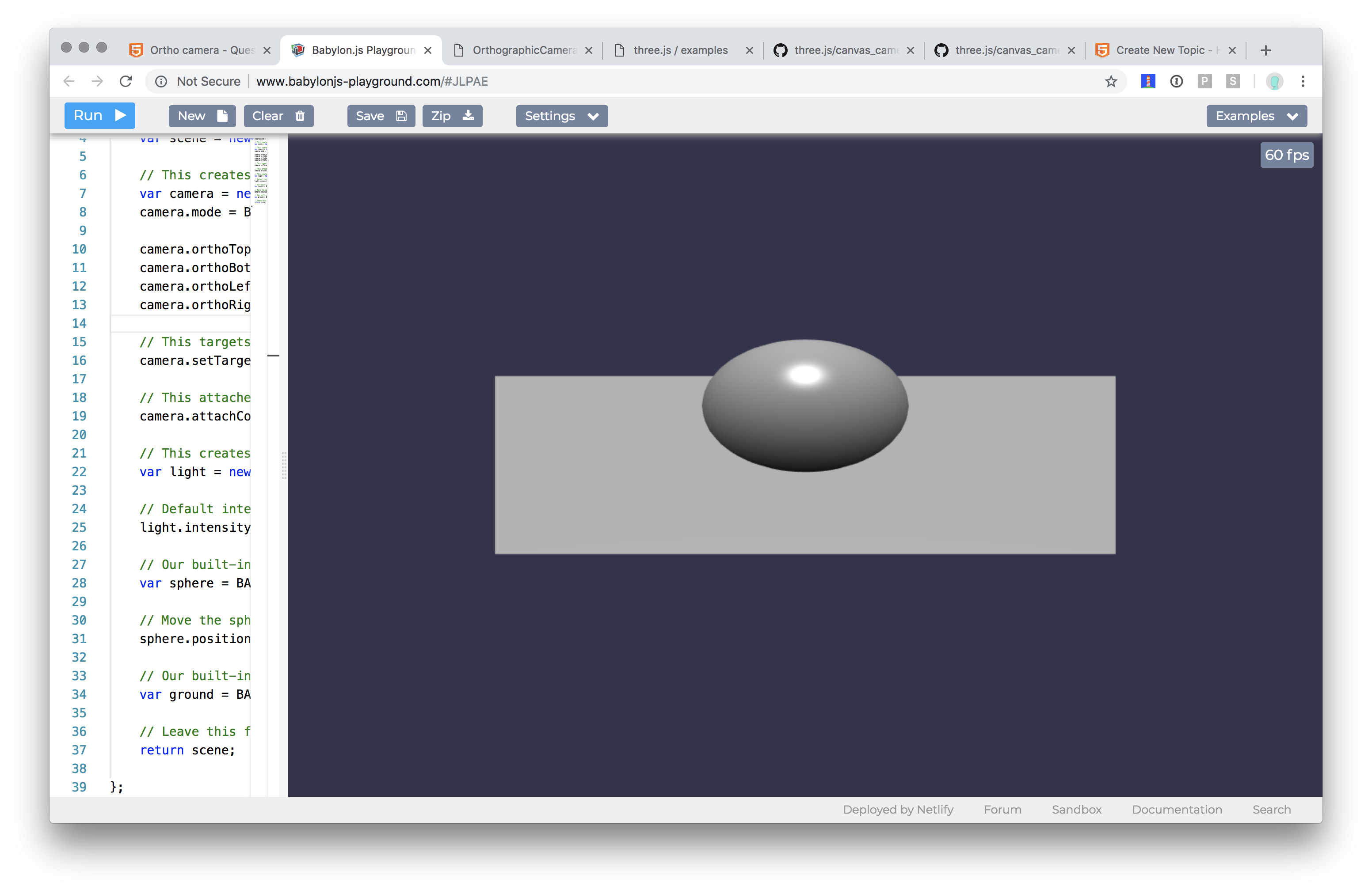Responsive Orthographic Camera? - Questions & Answers - HTML5 Game