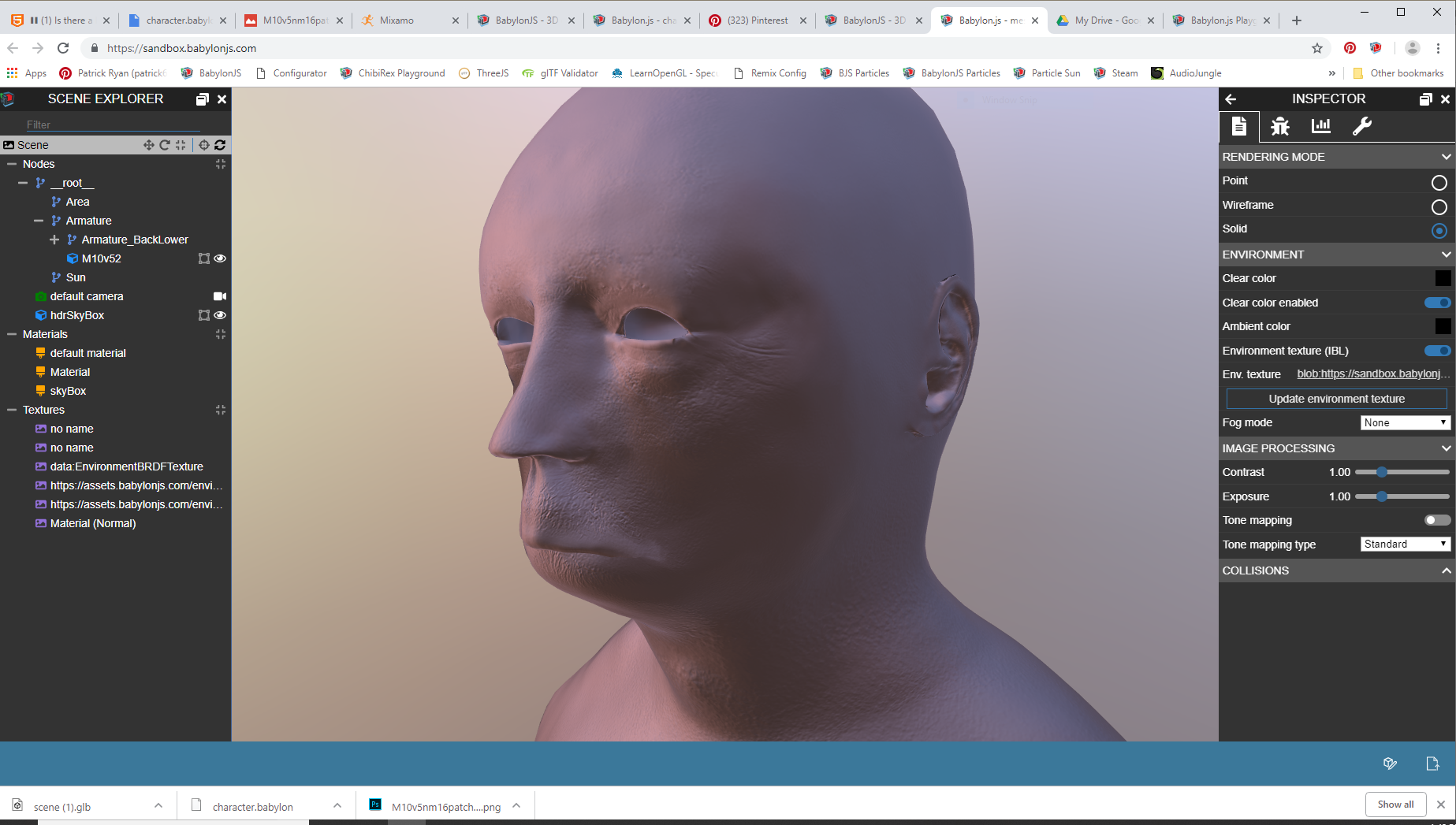 Normal map shows faces - Questions & Answers - HTML5 Game