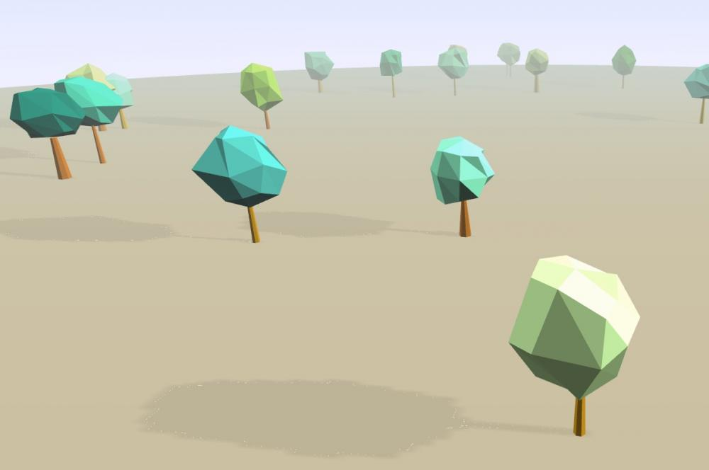 Low polygon tree demo (need help) - Questions & Answers