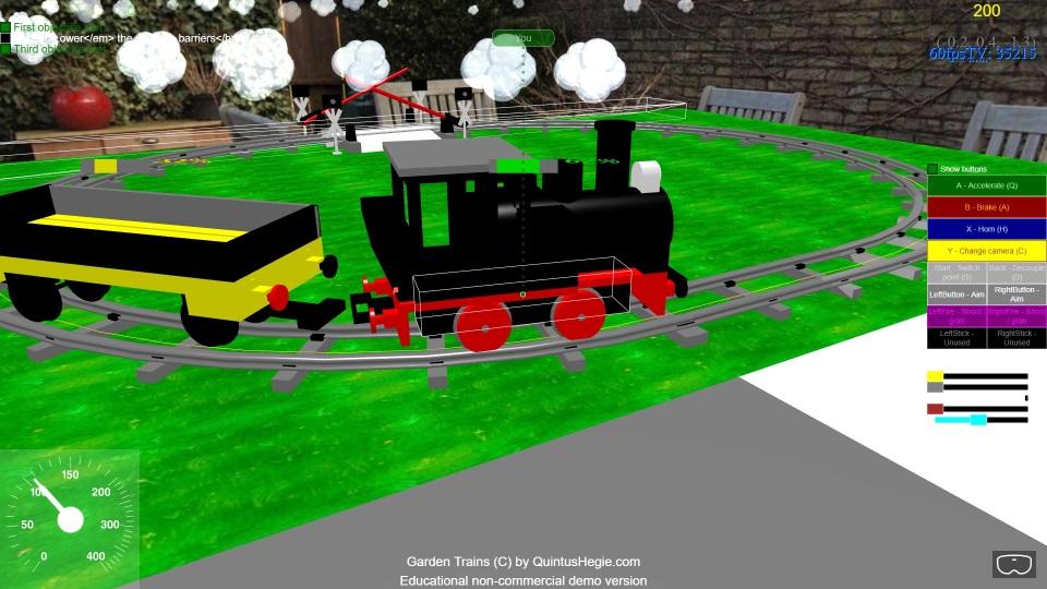 babylonjs model train simulator oval.jpg
