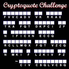 Cryptoquote Challenge